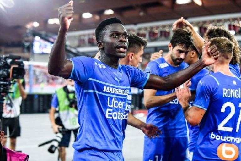 L'OM porté par Bamba Dieng contre Monaco