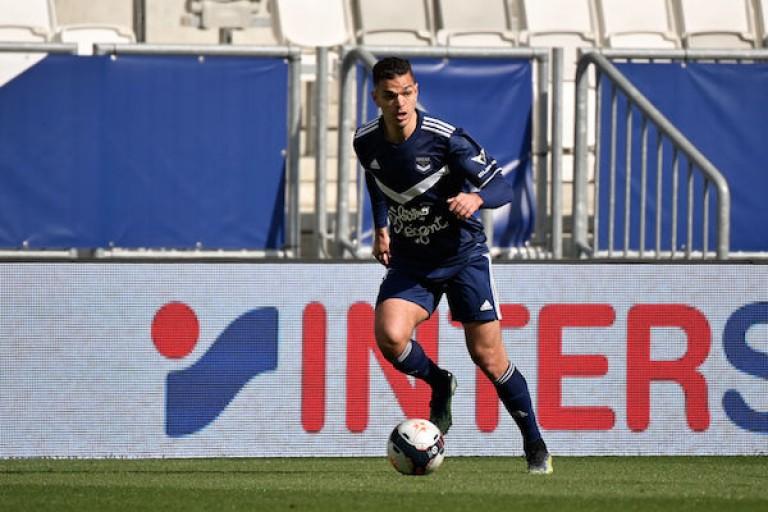 Hatem Ben Arfa sous le maillot de Bordeaux.