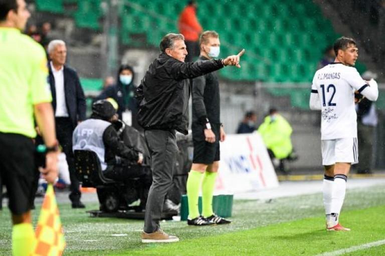 Claude Puel défait les Girondins de Bordeaux