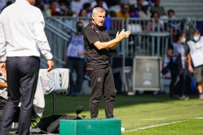 L'entraîneur du Stade Rennais, Bruno Genesio, n'a pas caché sa déception après le nul (1-1) de son équipe à Bordeaux lors de la 8e journée de Ligue 1.