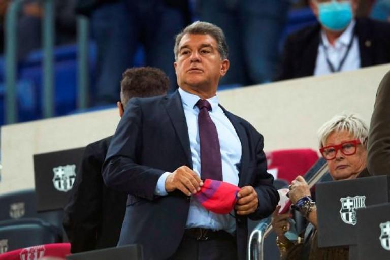 Joan Laporta, le président du Barça