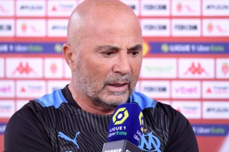 Jorge Sampaoli satisfait après Monaco