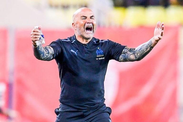 Jorge Sampaoli, entraîneur de l' OM.