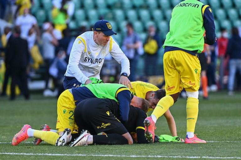 Un joueur du FC Nantes a été victime d'un malaise à l'entraînement