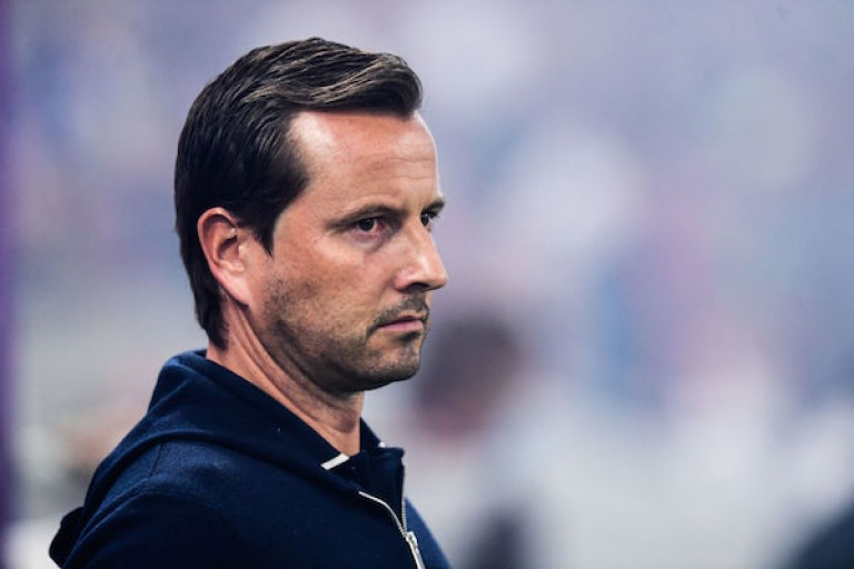 L'entraîneur du RC Strasbourg, Julien Stéphan, se méfie du RC Lens.