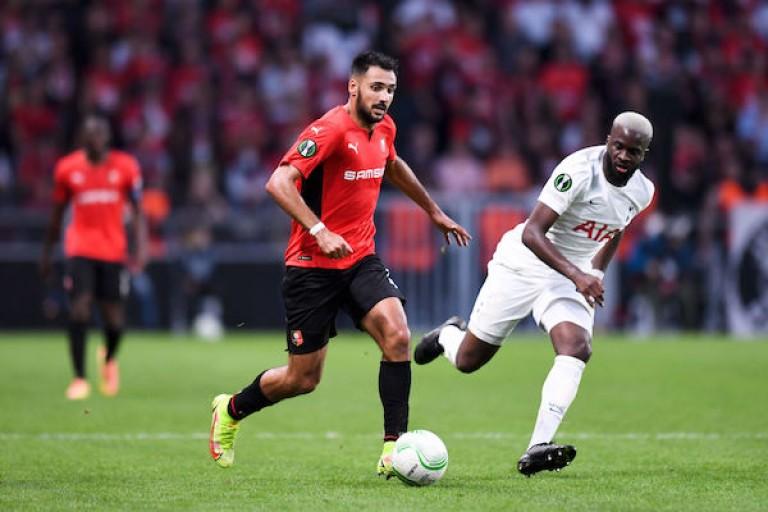Gaëtan Laborde a inscrit le second but du Stade Rennais.