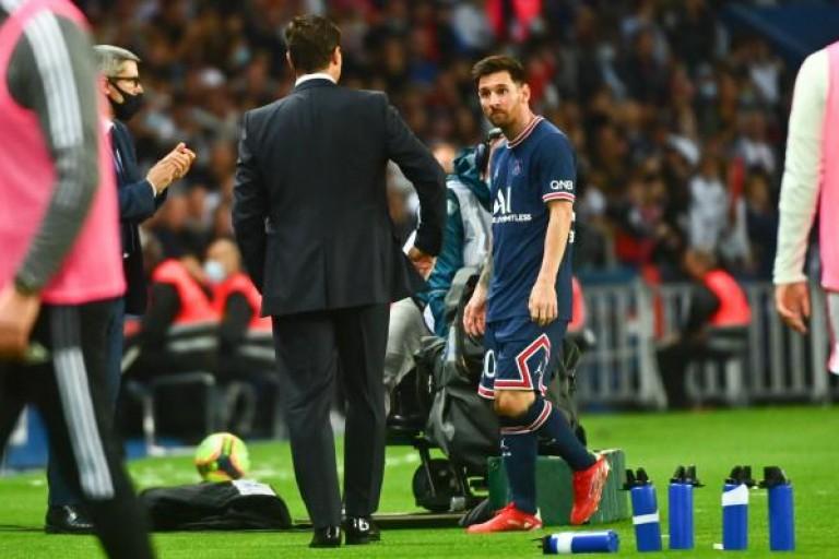 Lionel Messi remplacé contre l'OL