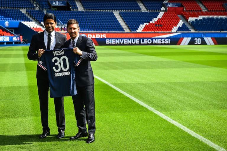 Après l'arrivée de Messi, le PSG annonce un partenariat avec Dior pour 2 ans.