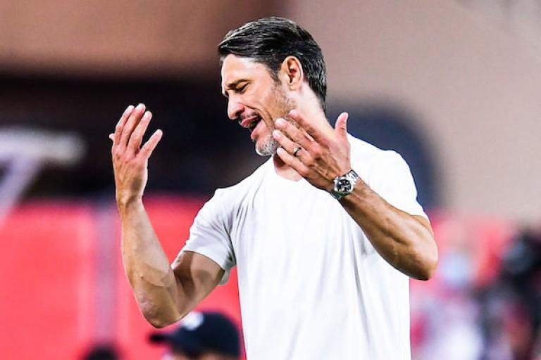 Niko Kovac en difficulté sur le banc de l' AS Monaco.