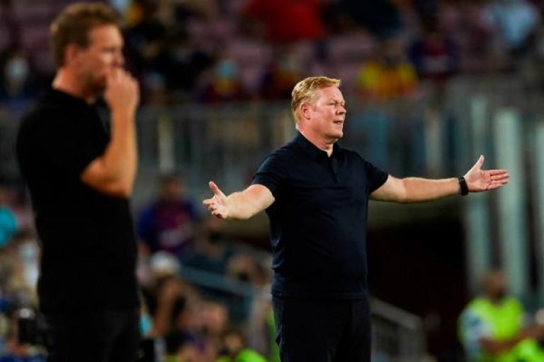 L'avenir de Koeman menacé au Barça