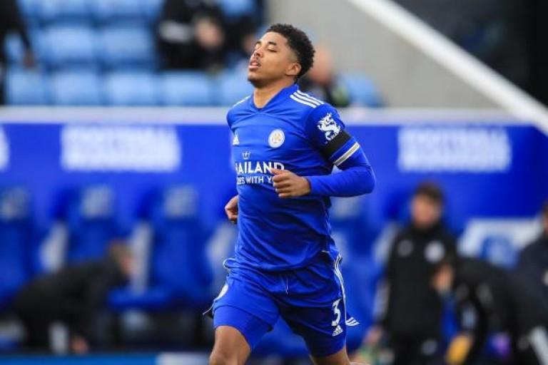 Wesley Fofana sous le maillot de Leicester