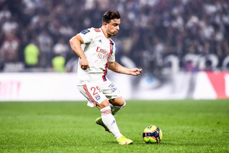 Xherdan Shaqiri veut aller à Paris pour battre le PSG avec l' OL.