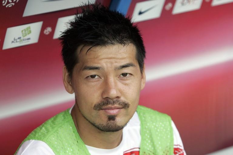 Daisuke Matsui, ancien joueur de l'ASSE (2008-2009).
