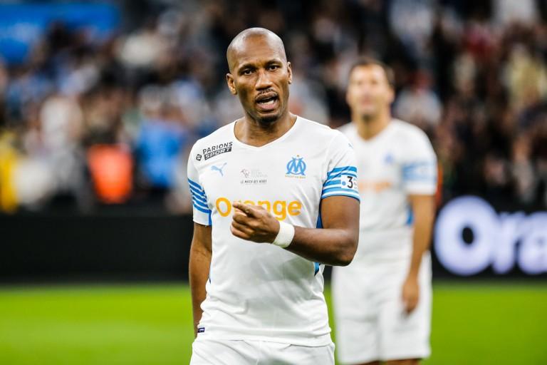 Didier Drogba triple buteur avec Marseille