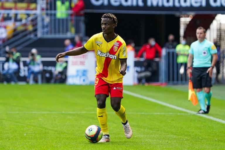 Ismaël Boura, défenseur formé au RC Lens.