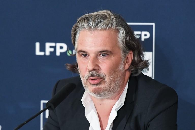 Vincent Labrune, président de la LFP.