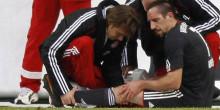 Bundesliga – Bayern Munich : Vers une rechute de Ribéry ?