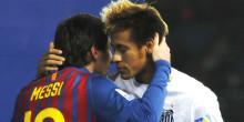 Real Madrid : Neymar tacle Cristiano Ronaldo
