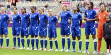 Bleues Equipe de france de foot jo 2012 france-colombie