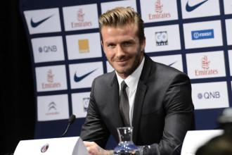PSG : Beckham dans ses tenues d'ambassadeur dès mercredi