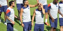 PSG : Blanc récupère Lavezzi et peut-être Marquinhos, pas Ibra