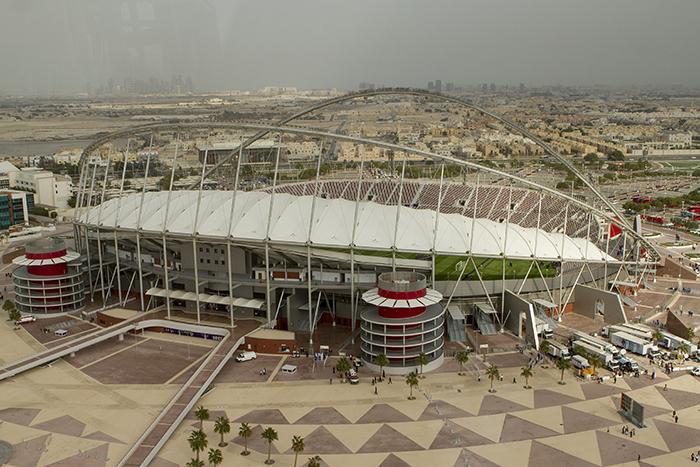 Qatar 2022 les travaux ont d but - Stade coupe du monde 2022 ...
