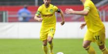 FC Nantes : Le groupe nantais contre le SC Bastia.