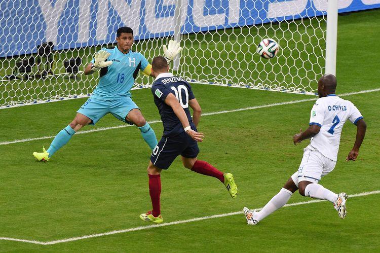France – Honduras au milieu des supporters à Porto Alegre