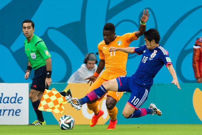Côte-d'Ivoire – Japon : Pour Drogba, Aurier est l'homme du match.
