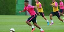 Barcelone : Neymar de retour à l'entraînement !