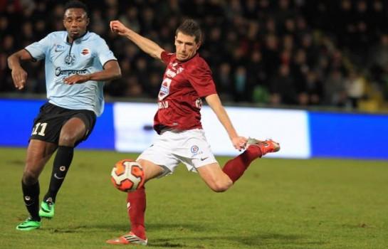 FC Metz : C'est dur pour Romain Rocchi (6 semaines d'absence)
