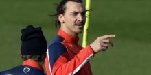 PSG : Zlatan à Bahebeck «Moi c'est 2 matchs, 21 buts !»
