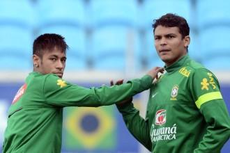 PSG – Brésil : Malaise entre Thiago Silva et Neymar !