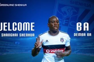 Mercato : Après Momo Sissoko, Shanghai Shenhua signe Demba Ba !