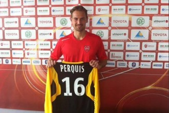 RC Lens – Valenciennes : Perquis évoque l'adaptation lensois en L2