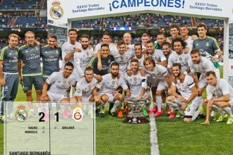 Amical : Le Real Madrid s'impose face à Galatasaray