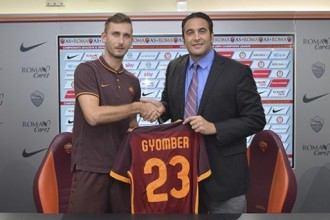 Mercato : l'AS Roma annonce l'arrivée de Norbert Gyomber [off.]