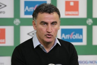 ASSE – Troyes (1-0) : Galtier pointe une mauvaise gestion de la pression