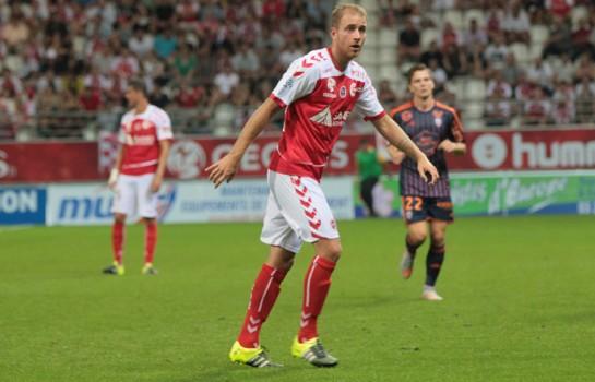 Stade de Reims : Alexi Peuget out jusqu'à la fin de la saison !