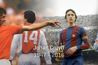 Ex-Barça : Johan Cruyff, le décès d'un mythe du ballon rond !