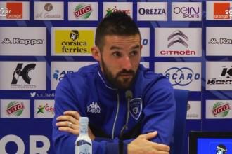 SC Bastia – Mercato : Julian Palmieri fait le point sur son avenir