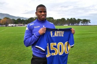 SC Bastia – Mercato : Floyd Ayité rejoint Fulham FC (off.)